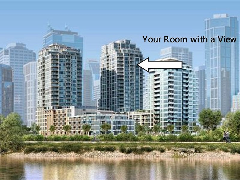 Calgary Luxury Downtown Tower On The Bow River, vakantiewoning in Calgary