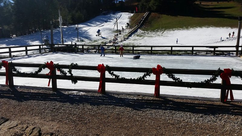 Snow tubing and ice skating is just 3 miles away at Scaly Mtn. Outdoor Center!