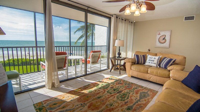 3rd Floor, Spectacular Views Up And Down The Beach And  Over The Gulf Of Mexico, location de vacances à Île de Sanibel