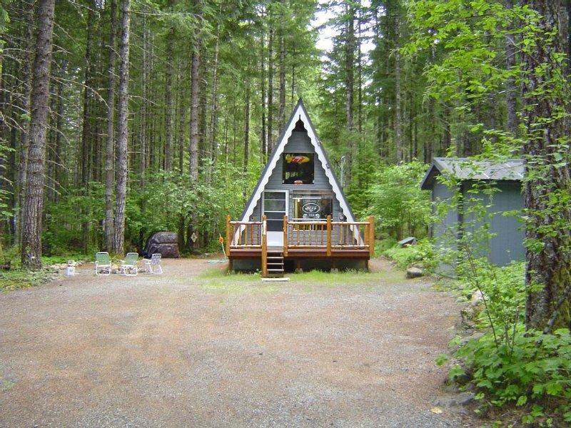 Rock-N-Roll Cabin On Mount Rainier, aluguéis de temporada em Packwood
