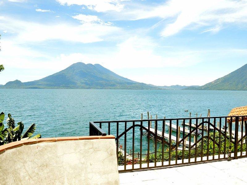 Lakeside Villa Lake Atitlan, Guatemala - Volcano View, vacation rental in Guatemala