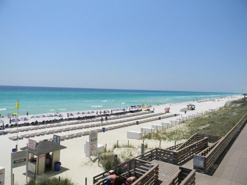 Need a getaway?!  Great-Location! Gulf Views Unit 110!  Sleeps 8 total, holiday rental in Panama City Beach