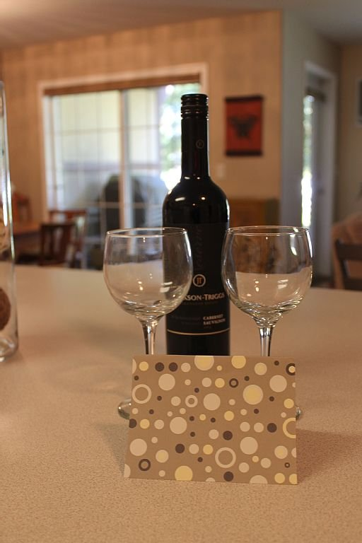 Come and enjoy a complimentary bottle of local wine on us!