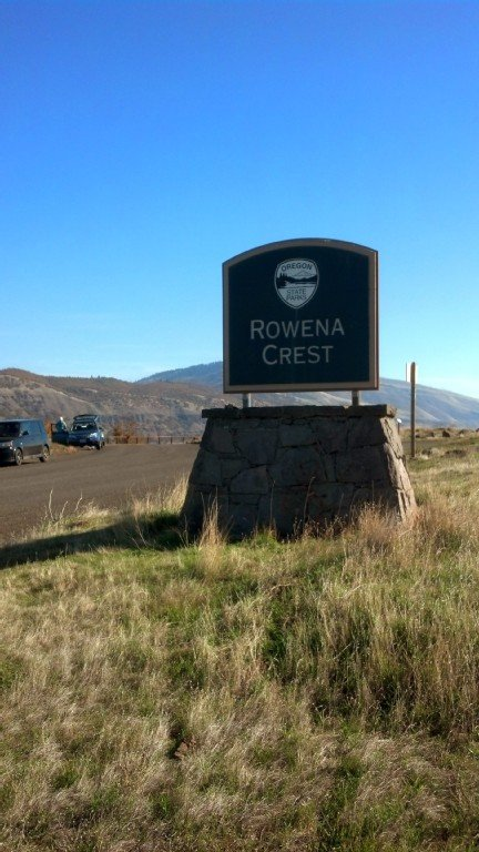 Rowena Crest-A 24 mile bike ride from the house. A beautiful view point.
