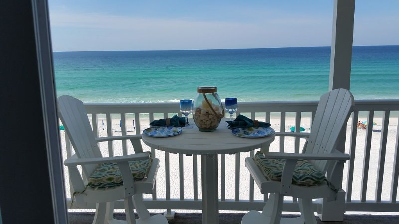 Seagrove, Gulf Front, Private Beach,Top Floor, Free Beach setups, Free internet, location de vacances à Grayton Beach