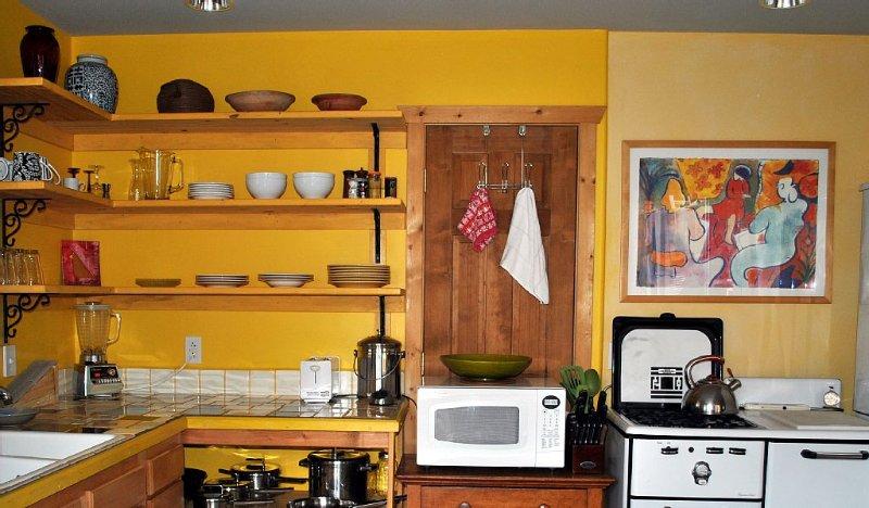Efficient but effective kitchen