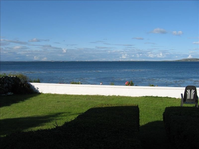 View of Galway Bay from cottage