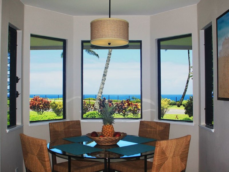 High-End, Newly Renovated Villa With Spectacular Views and Walk to Beaches, vacation rental in Princeville