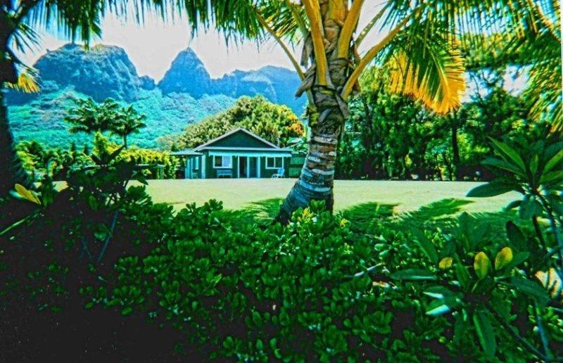 Sweet Rustic Cottage ~ Ocean View ~ Short walk to beach, alquiler de vacaciones en Anahola