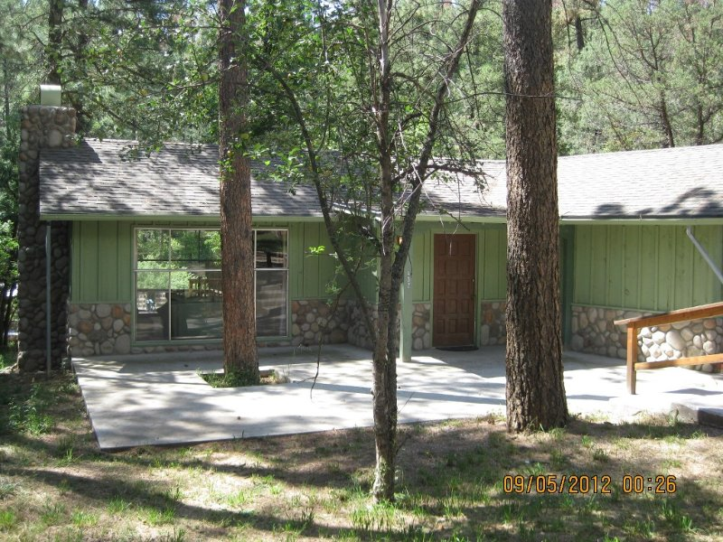 Right on the Famous Ruidoso River!!!, vacation rental in Ruidoso