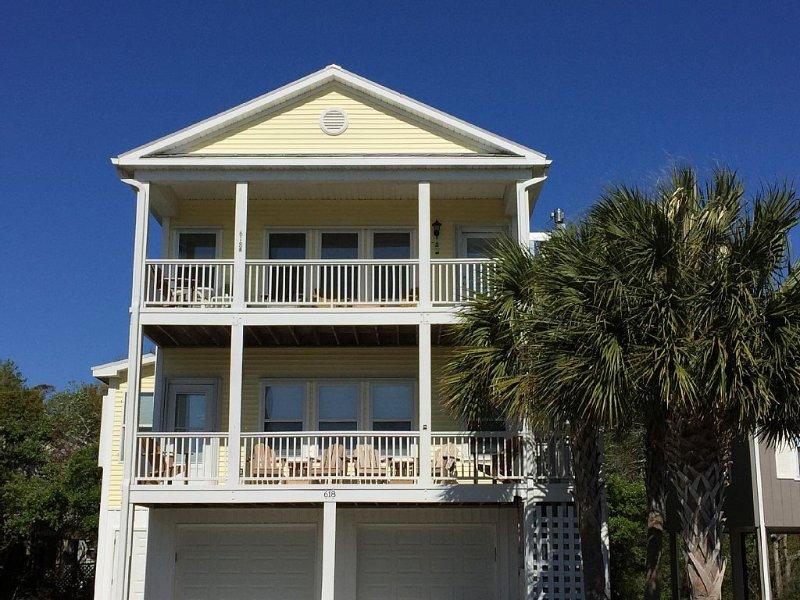 OCEAN VIEWS-$1500/Week-Price Includes Rent, Taxes, Cleaning 3 BR/2BA, vacation rental in Kure Beach