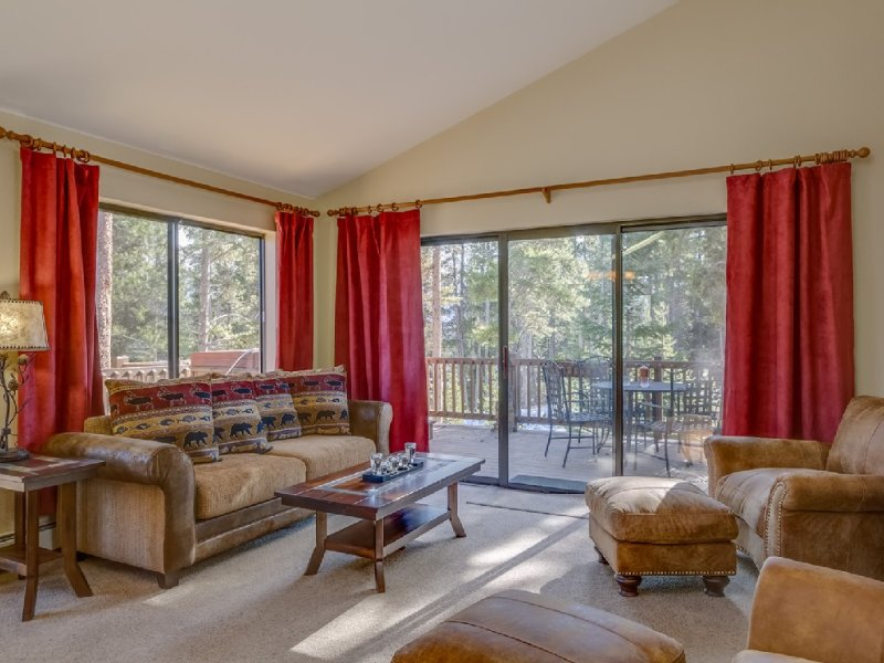 3br/3ba On Peak 8! Walk Or Shuttle to Slopes/Ski home weather permitting, vacation rental in Breckenridge