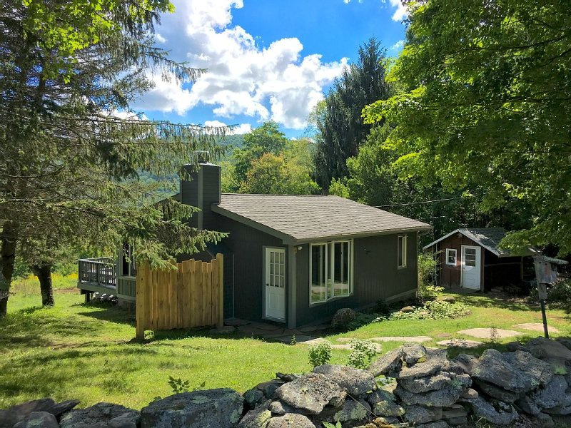 Cozy Cottage with Stunning Mountain Views, holiday rental in Fleischmanns