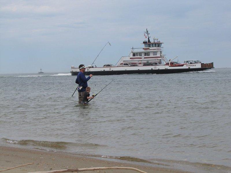 Ferry to Ocracoke - fun, fun, fun!