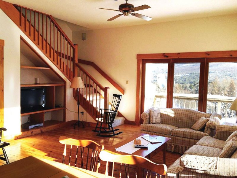 The snow keeps coming! Now booking for March, vacation rental in Glover