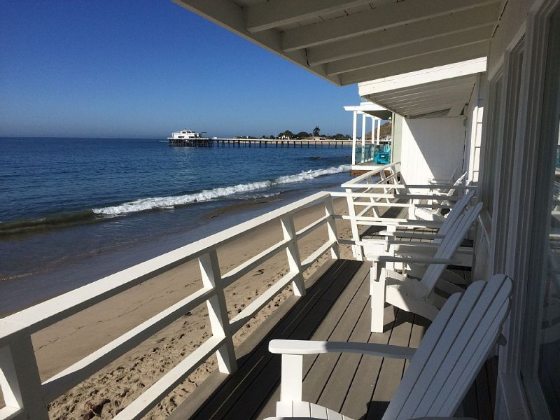 Malibu Carbon Beach Oceanfront Bungalow Eight, holiday rental in Malibu