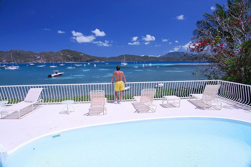Renovations Complete!  Come stay at our beautiful beachfront villa!, vacation rental in St. John