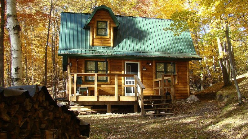 A cute little lake cabin near Turtle Lake, WI. Get away from it all!, vacation rental in Luck