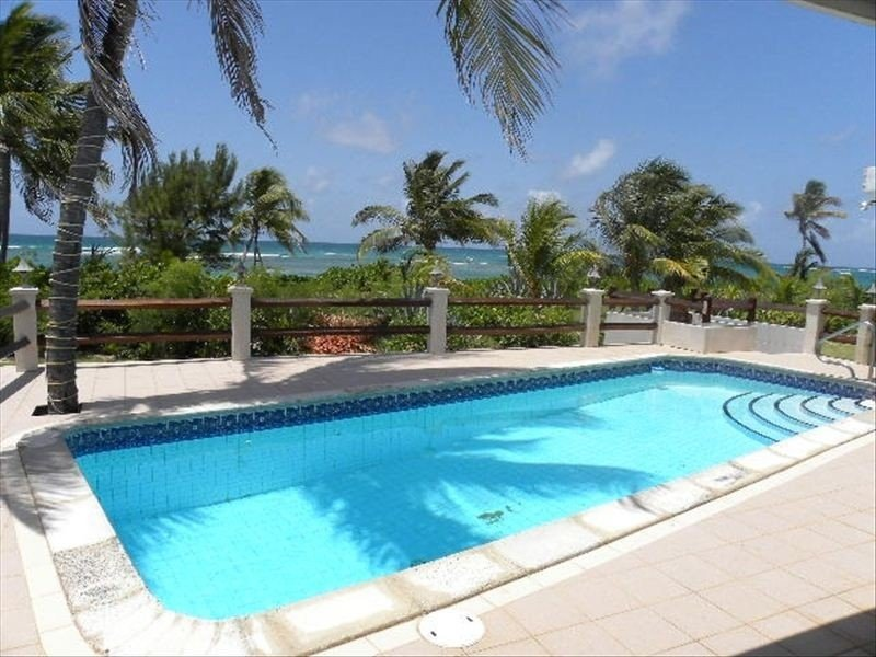 Private fresh water pool at Breezy Beach