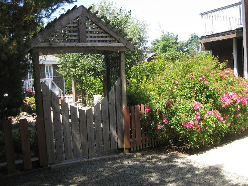 Gate to Courtyard