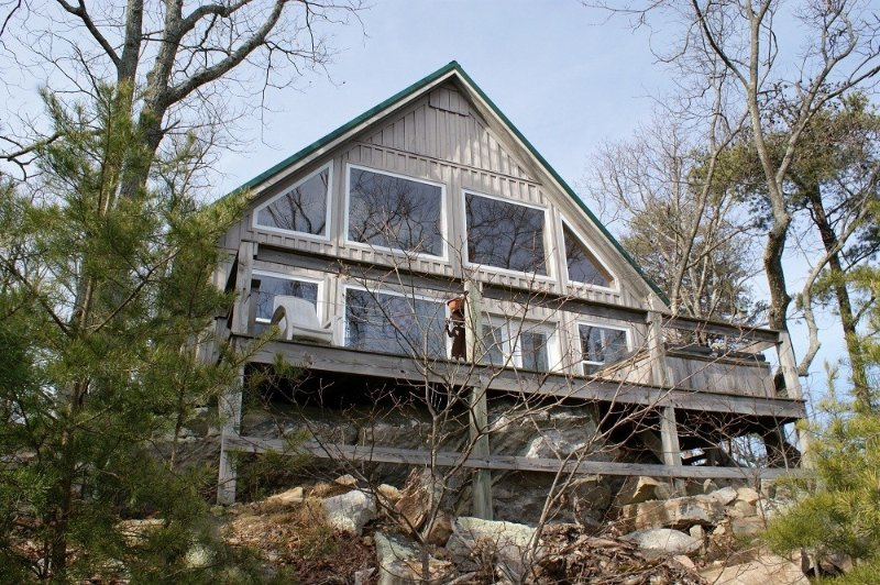 LOOKOUT MOUNTAIN CLEAN & COZY CABIN/ AMAZING VIEWS on TOP of LOOKOUT MOUNTAIN, vakantiewoning in Rising Fawn