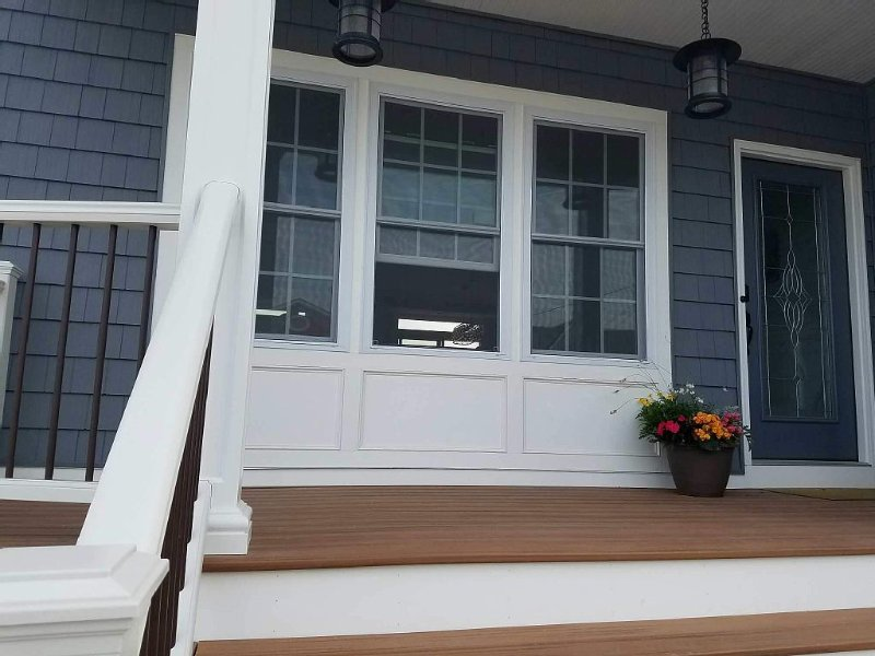 The front porch welcomes you