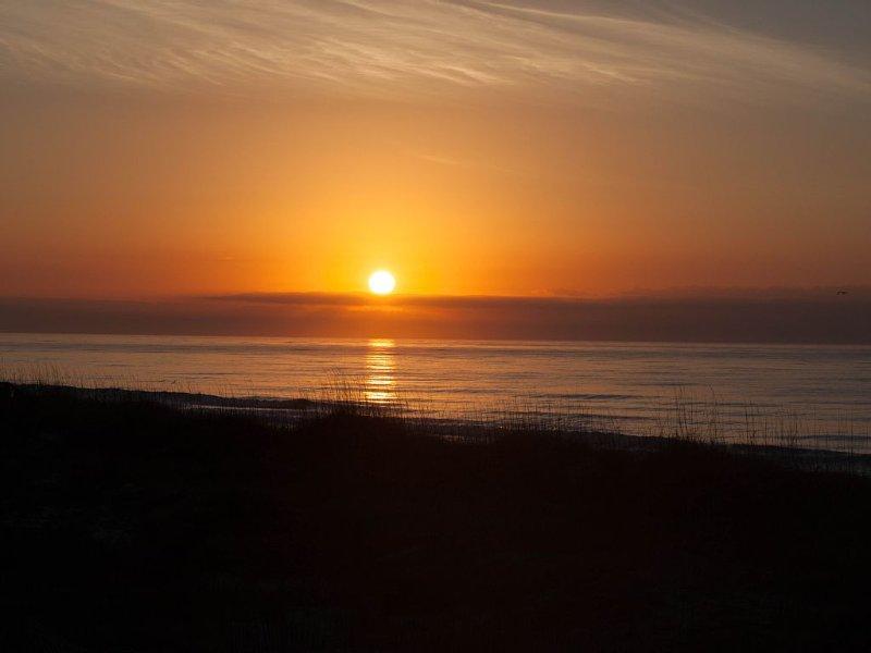 Morning Sunrise from Condo Balcony