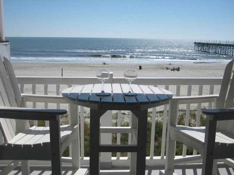 UPDATED End Unit Oceanfront Condo with Awesome Views - Best View at Ocean Cove!, vacation rental in Ocean Isle Beach