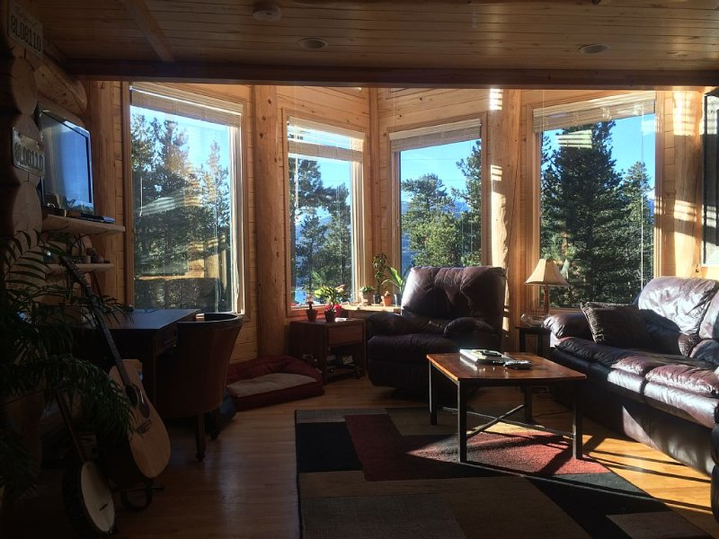 Peaceful Mountain Retreat with Views, vacation rental in Twin Lakes