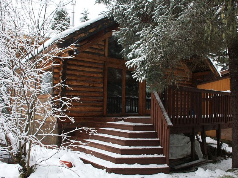 Perfect Location! Cozy And Quiet Log Cabin; Walking Distance To Ski Lifts!!, alquiler de vacaciones en Girdwood