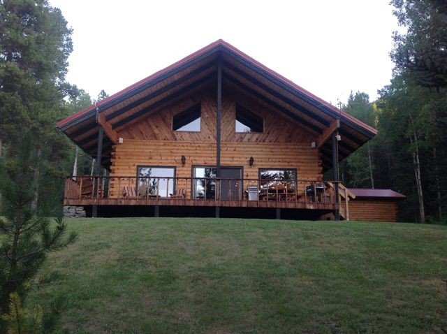 Secluded Glacier Meadow Log Home  $300.00--$400.00 per night, holiday rental in Essex