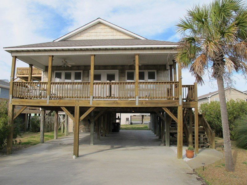 Newly remodeled Beach Cottage, alquiler vacacional en Carolina Beach