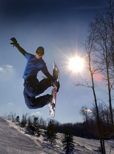 Enjoy the Slopes and Terrain Park too!