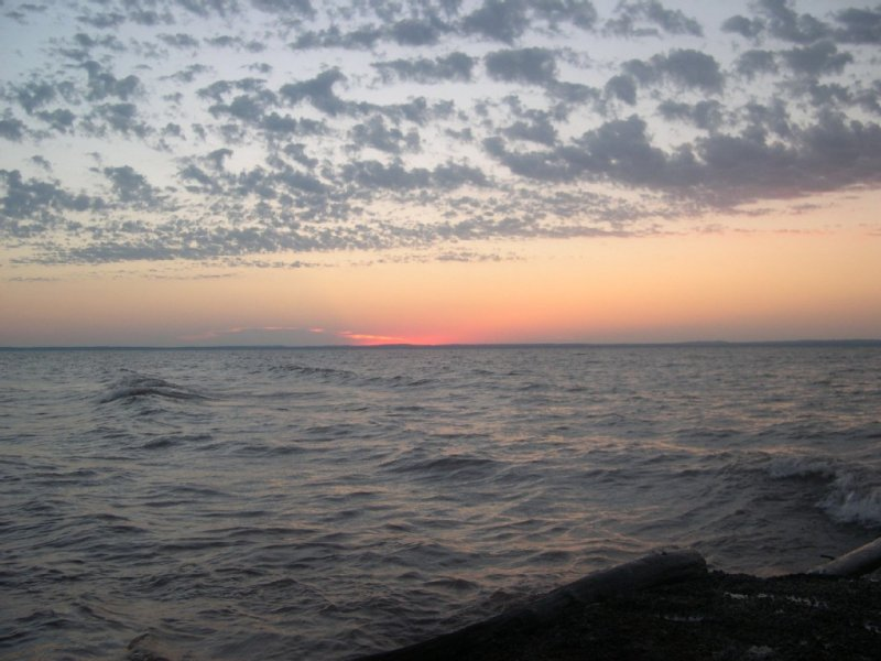 Best View Of The South Shore In Cozy Authentic Log Cabin, vacation rental in Port Wing