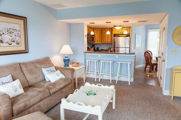 Port O' Call A303/ 1BR Ocean View Condo w/ Wild Dunes Amenities!, vacation rental in Isle of Palms