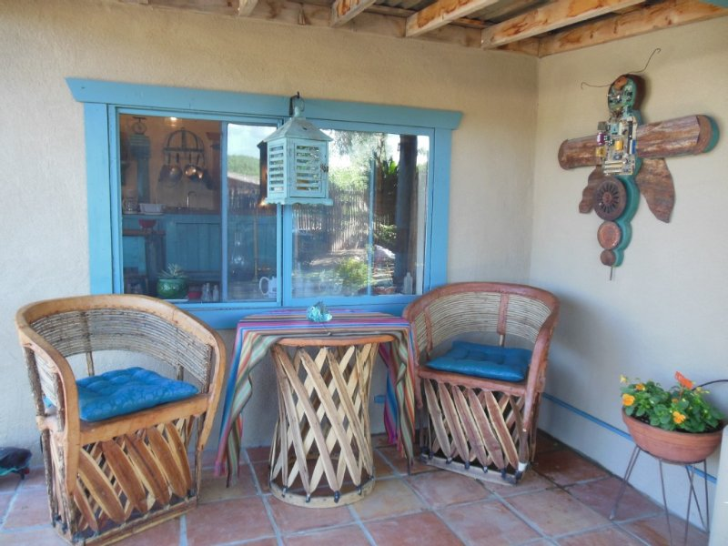 Casita Juliet in Taos, New Mexico, holiday rental in Taos