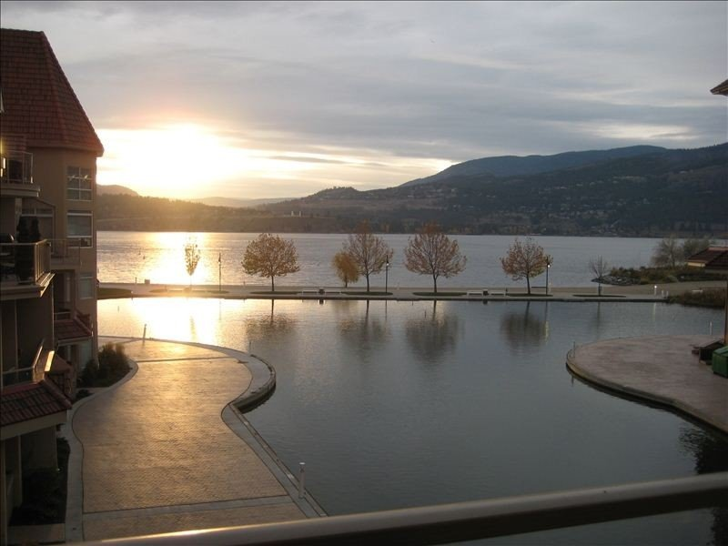 Enjoy Sitting on the Patio Overlooking the Lagoon and Okanagan, holiday rental in Kelowna