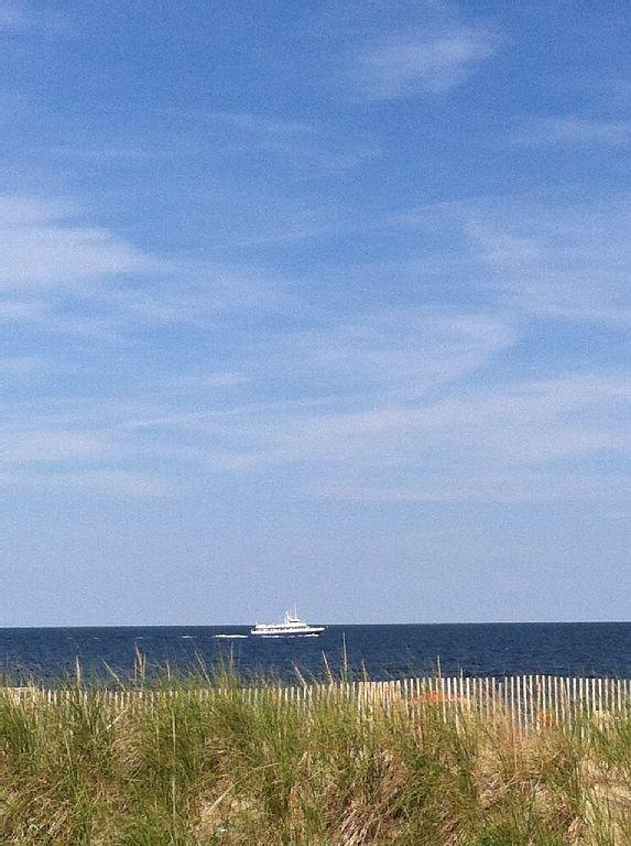 View standing on Ocean Front Deck