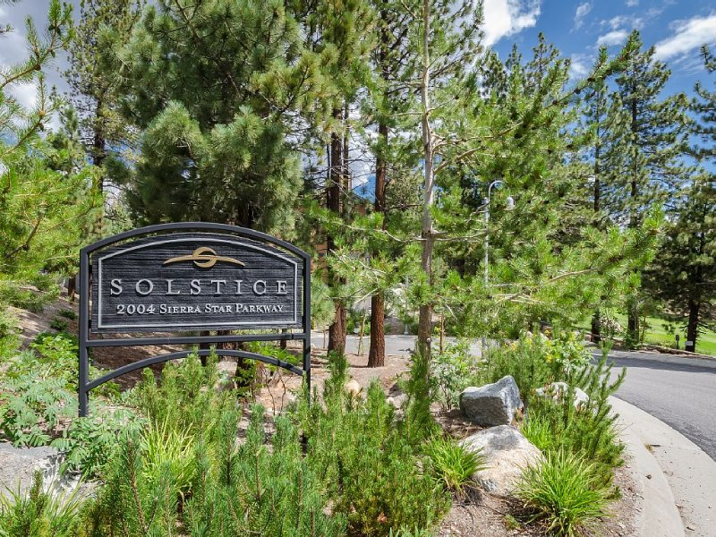 Solstice Complex is located across the street from Sierra Star Golf Course.