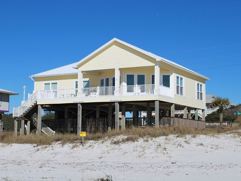 As seen on HGTV's My Lottery Dream Home!  Gulf front home 3BR/3BA., vacation rental in Gasque