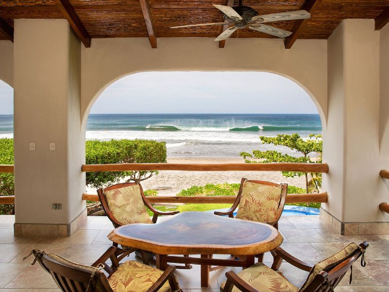 Upstairs patio view out to the ocean and Colorados Surf Break