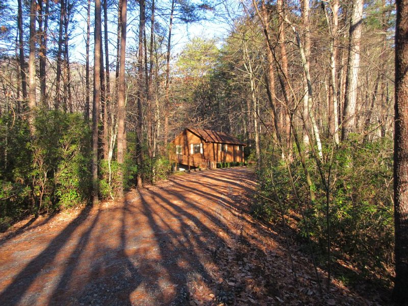 Unforgettable facility with one couple maximum privacy --only booking requests!, holiday rental in Sautee Nacoochee