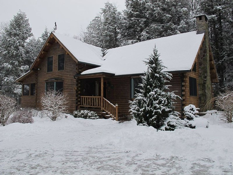 Gorgeous Log Cabin in the Berkshires, vacation rental in Berkshires