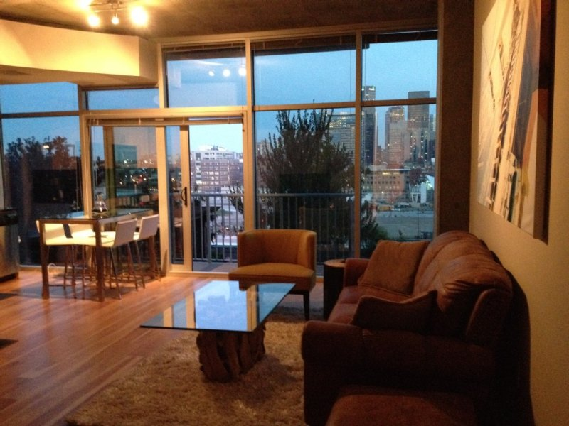 Luxury Lodo Denver High-Rise with Amazing Views of Denver, walk to Union Station, holiday rental in Denver