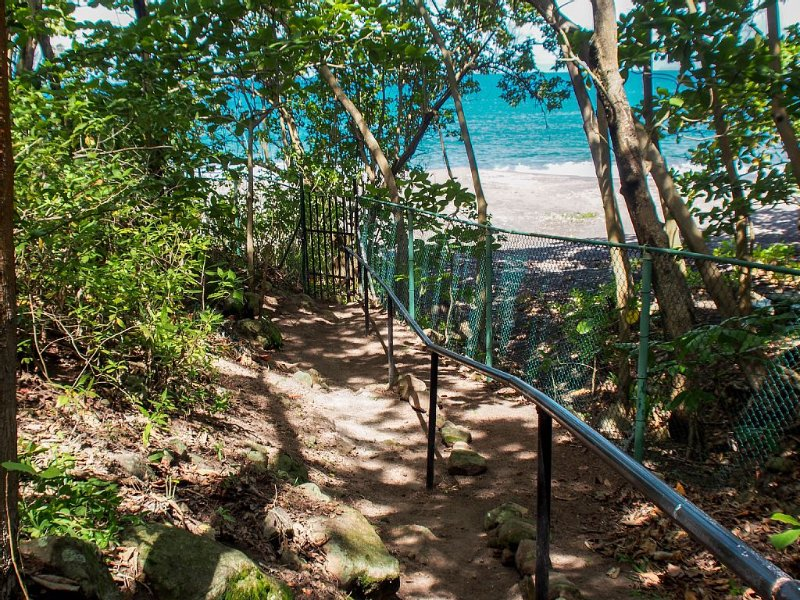 View of Beach from Private Pathway