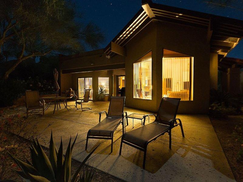 Desert View Patio Home Ram's Hill Gated Community overlooking Fazio Golf Course, location de vacances à Borrego Springs