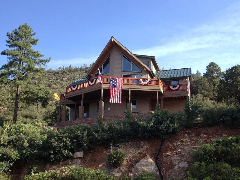 View Cabin in Strawberry, AZ, holiday rental in Strawberry