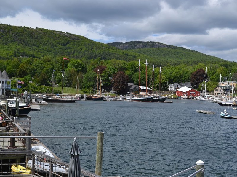 Luxury And Comfort both inside and outside on always beautiful Camden Harbor., holiday rental in Camden