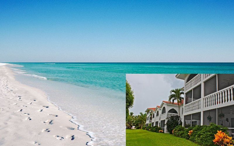 Rare Walkout Condo On Sanibel Beach, vacation rental in Sanibel Island