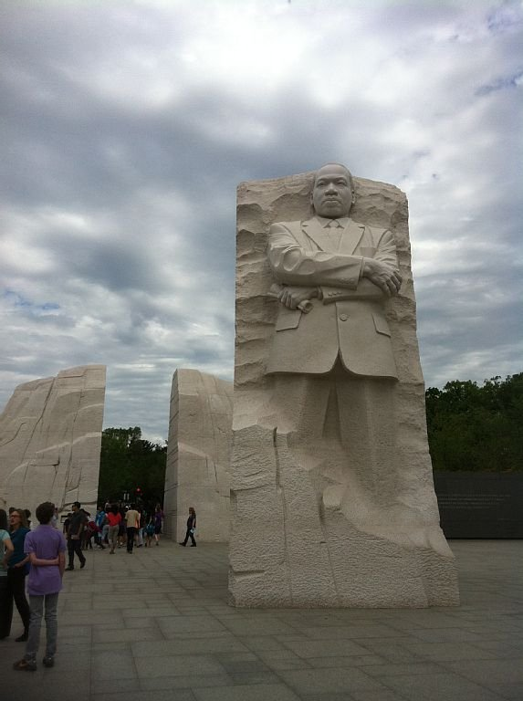 MLK Monument - to remind you of Washington DC Don't forget to visit this!